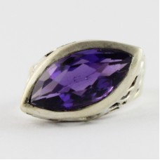 BE POSITIVE !! AMETHYST RING