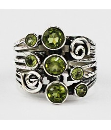 Featured ### Hot Selling Gemstone Silver Ring